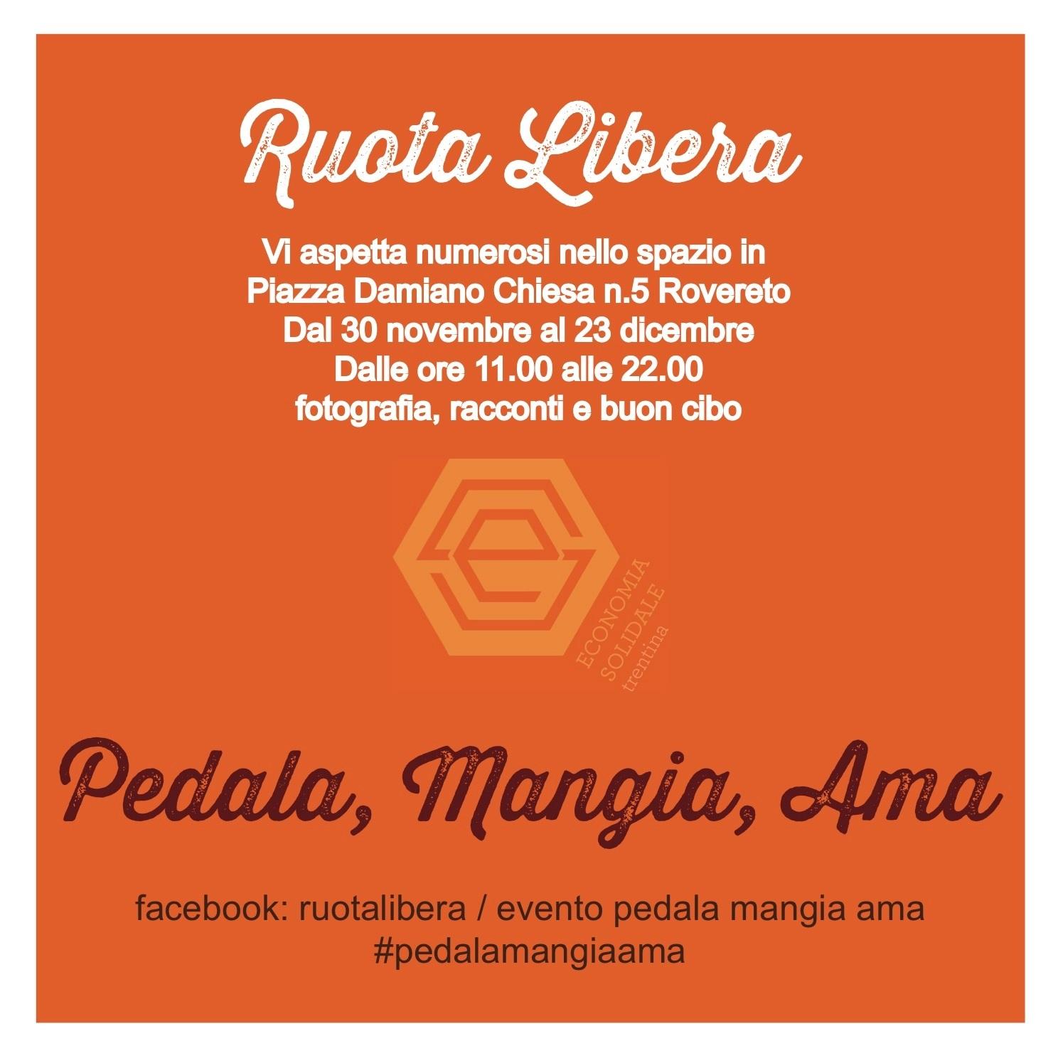 Pedala, Mangia, Ama @ Ruota Libera | Predaia | Italia