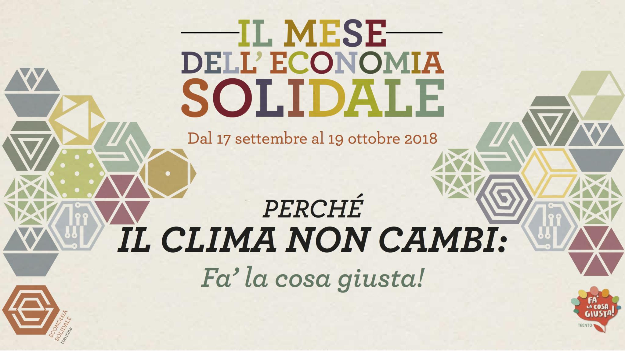 Trento Fiere Calendario.Il Mese Dell Economia Solidale